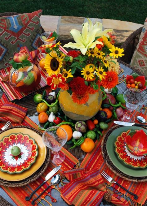 Chic Mexican Inspired Tablescapes for Your Fiesta   Party ...