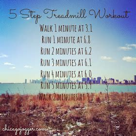 Chicago Jogger: 15 Treadmill Workouts for Cold Weather
