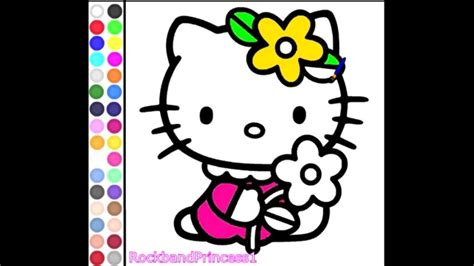 Children Video Games   Hello Kitty Painting   Free ...