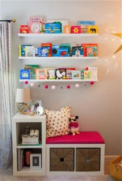 Childrens room ikea hack shelves and reading corner | Ikea ...