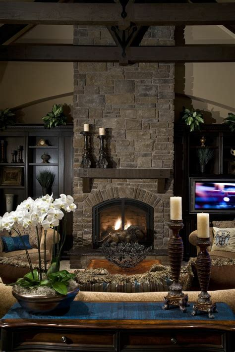 Chimeneas rusticas ideas y detalles para decorar con estilo
