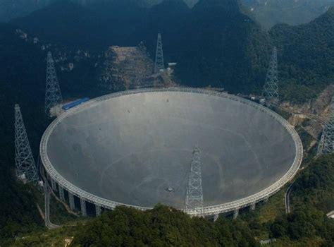 China presenta telescopio de 500 metros para investigar ...