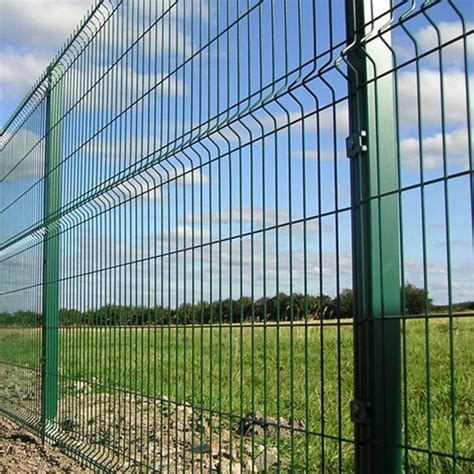 China Security Welded Wire Mesh Fence Panel Manufacturers