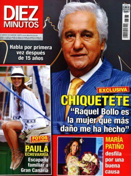 Chiquetete en Diez Minutos:  Raquel Bollo es la mujer que ...