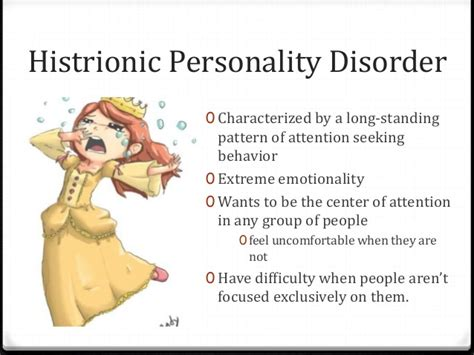 Chitchat   Do You Suffer From Histrionic Personality ...