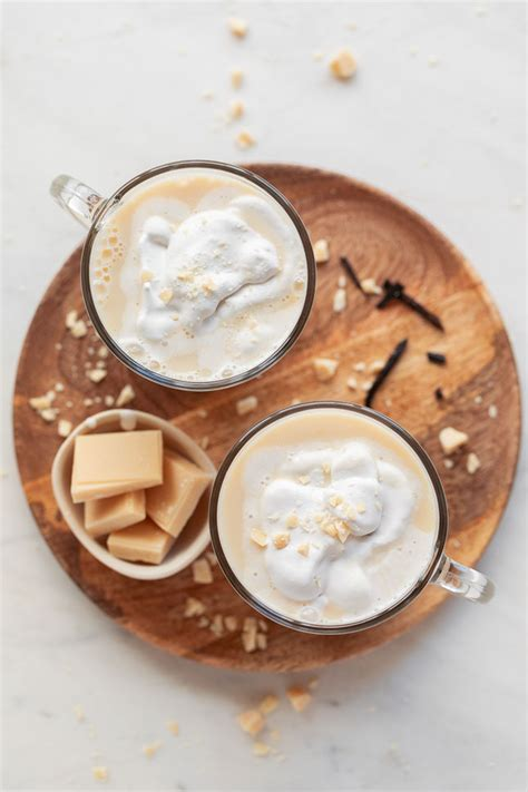 Chocolate Blanco Caliente Vegano | Danza de Fogones