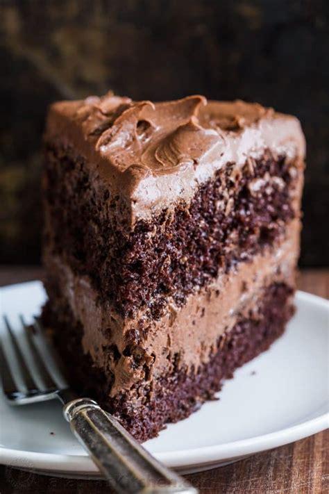 Chocolate Cake Recipe  VIDEO    NatashasKitchen.com