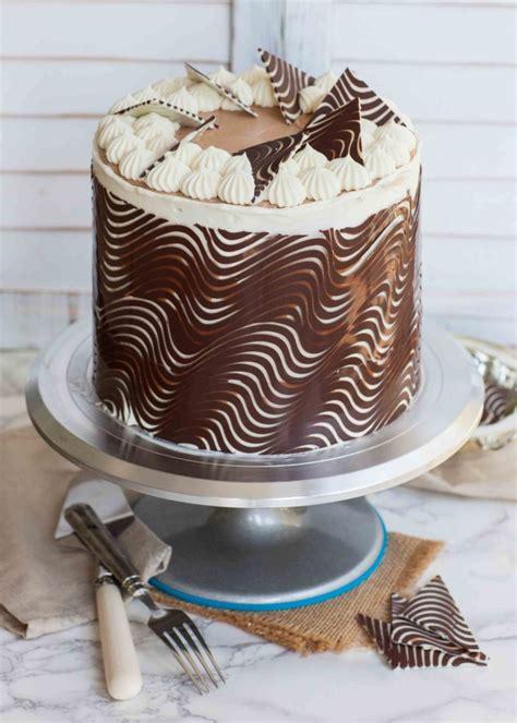 Chocolate Cake Wrap & Decorations   Tatyanas Everyday Food