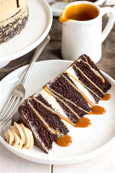 Chocolate Dulce de Leche Cake : Liv for Cake