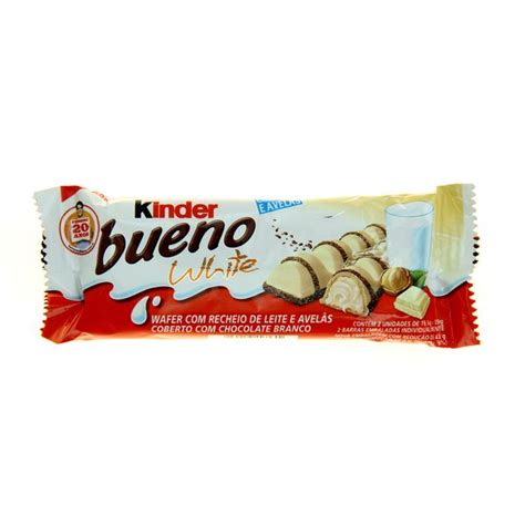 CHOCOLATE KINDER BUENO 39G WHITE   Savegnago Online
