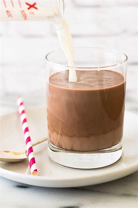 Chocolate Milk for One   Baking Mischief