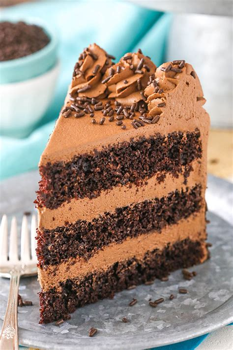 Chocolate Mousse Cake Recipe + Chocolate Whipped Cream!