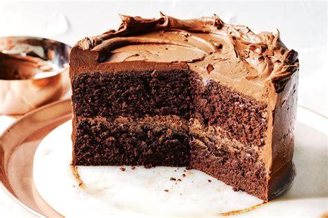 Chocolate  soup  cake   Recipes   delicious.com.au