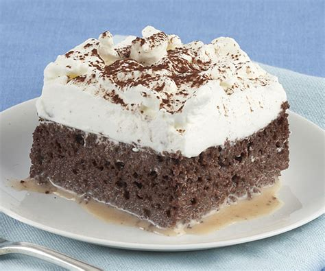 Chocolate Tres Leches Cake   FineCooking