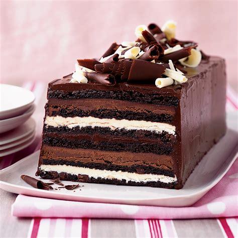 Chocolate Truffle Layer Cake Recipe   Kimberly Sklar ...