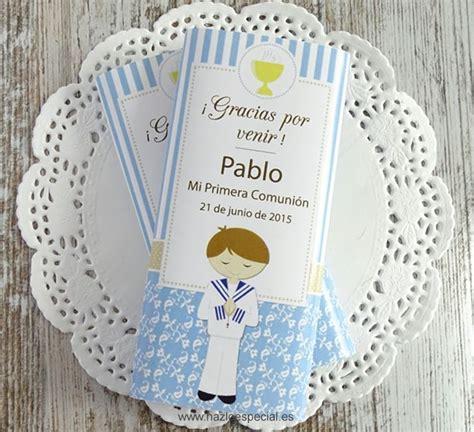 Chocolatinas personalizadas Primera Comunión | | Regalos ...