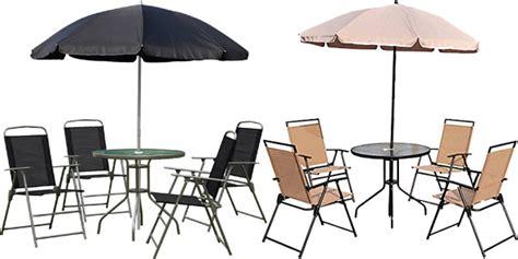Chollo Conjunto de muebles de jardín Outsunny con 4 sillas ...