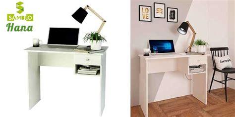 Chollo Mesa escritorio básica Hana de Samblo con cajón en ...