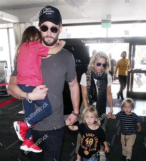 Chris Hemsworth Elsa Pataky Tristan Hemsworth India ...
