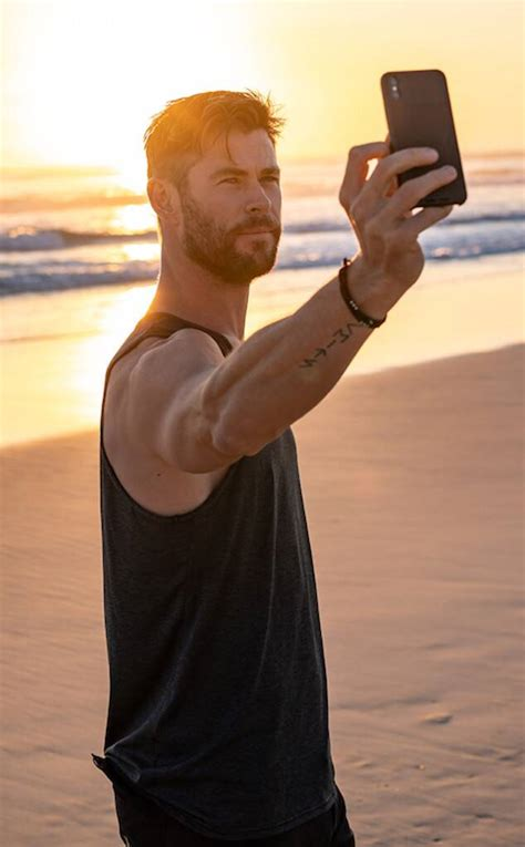 Chris Hemsworth Gives Intimate Look at His Life in Byron ...