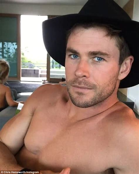 Chris Hemsworth in hilarious Instagram video | Daily Mail ...