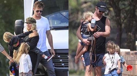 Chris Hemsworth s Family   2018 {Wife Elsa Pataky & Kids ...