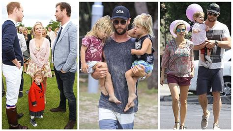 Chris Hemsworth s Family 2018 [Wife Elsa Pataky & Kids ...
