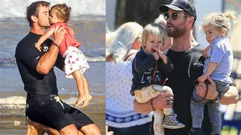 Chris Hemsworth s [Thor] Daughter And Twins Sons [India ...