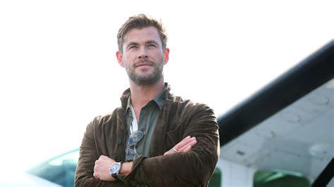 """Chris Hemsworth tiene la """"técnica"""" de entrenamiento ..."""