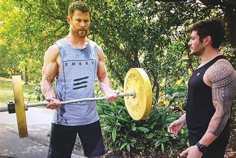 Chris Hemsworth Workout   The God of Thunder s Thor ...