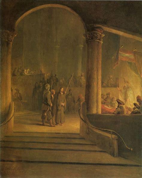 Christ Before Caiaphas   Aert de Gelder    Rijksmuseum ...