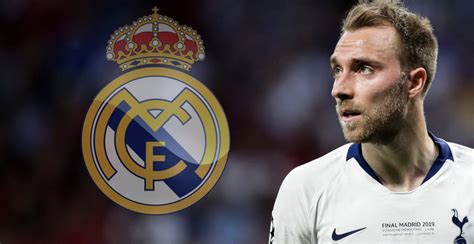 Christian Eriksen se apunta al Real Madrid:  Sería subir ...