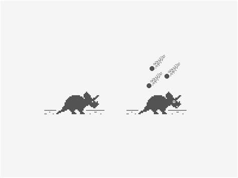 Chrome Dinosaur Rebound by CuteCrane | Dribbble | Dribbble