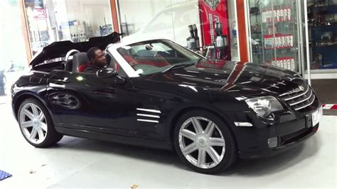 CHRYSLER CROSSFIRE CONVERTIBLE BART TESTING ROOF OPERATION ...