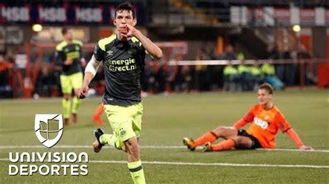Chucky' Lozano volvió a anotar para el PSV en la Copa de ...
