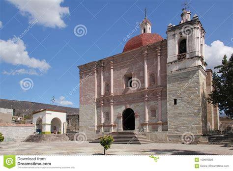 Church Of San Pablo Villa De Mitla, Mexico Stock Image ...