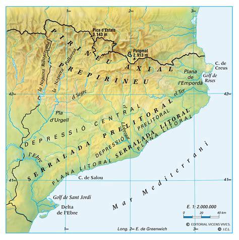 CIÈNCIES SOCIALS, GEOGRAFIA 3r: Catalunya física