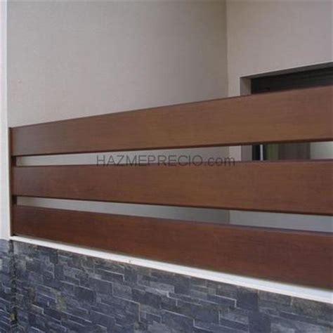 Cierre aluminio imitacion madera   láminas   Narón  A ...