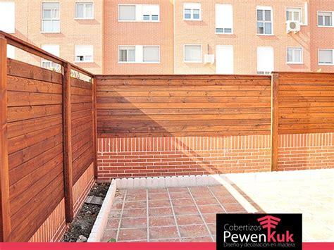 Cierres de madera | Cobertizos Pewenkuk | Realizamos ...