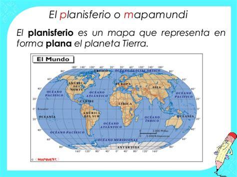 CIFRAS Y LETRAS: Mapas y planisferios