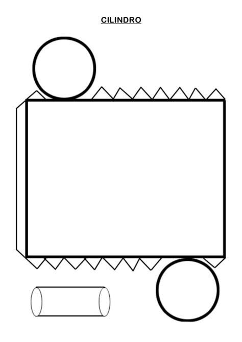 CILINDRO | Ensino da geometria, Atividades de geometria ...