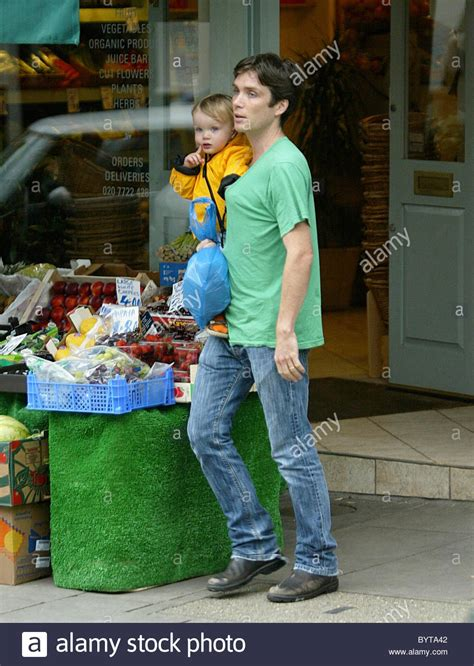 Cillian Murphy goes out with his son to the buy some ...