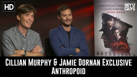 Cillian Murphy & Jamie Dornan Exclusive Interview ...