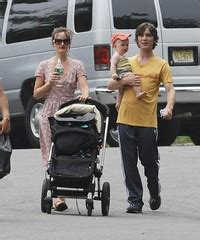 Cillian Murphy with his wife and their son, Malachy | Flickr