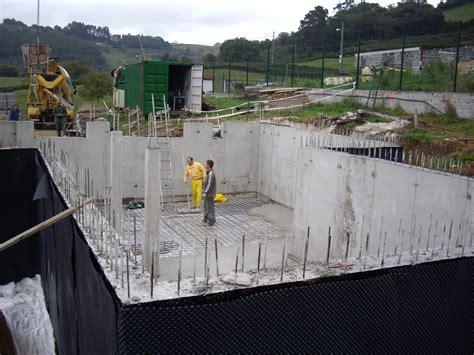 Cimentaciones y estructuras de hormigón.   Construcciones ...