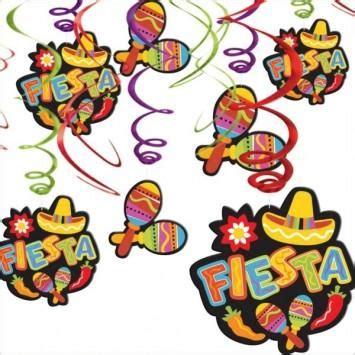 Cinco de Mayo Fiesta Hanging Swirl Decorations – Nyea s ...