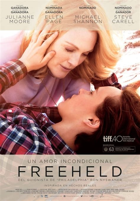 Cine Series:  Freeheld  Un intenso drama de amor incondicional