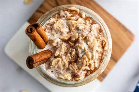 Cinnamon Roll Overnight Oats | Lemons + Zest | Recipe in ...