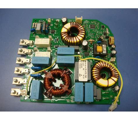 Circuito alimentación c/filtro induccion G4