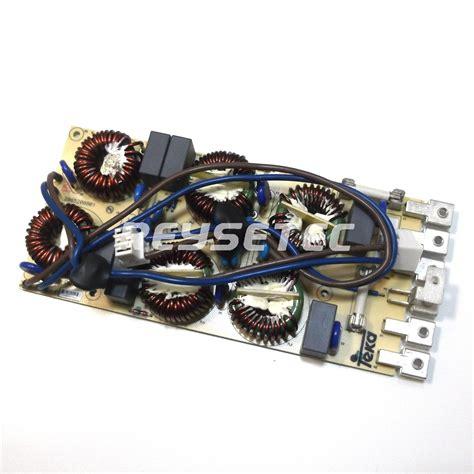 Circuito alimentación/filtro  EMI FILTER  inducción G2 ...